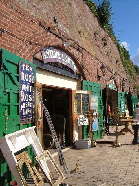 Exeter Quay, Devon, UK. Love all the little stores tucked in here.