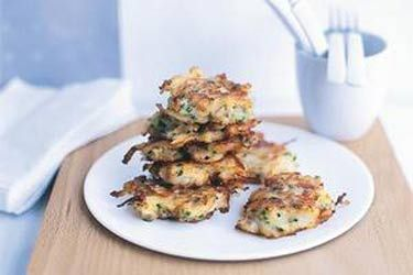 Pear and blue cheese fritters recipe, NZ Herald – visit Food Hub for New Zealand recipes using local ingredients – foodhub.co.nz