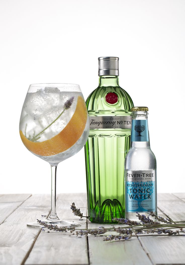 gin tonic afrutado de tanqueray ten y fever tree