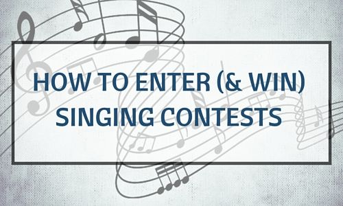 How to Enter (& Win) Singing Contests & Competitions http://takelessons.com/blog/singing-contests-z02?utm_source=Social&utm_medium=Blog&utm_campaign=Pinterest