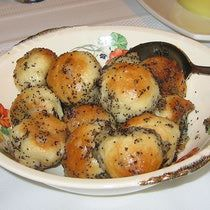 Sweet Bobalki Recipe - Slovak Bread Balls with Poppyseeds and Honey