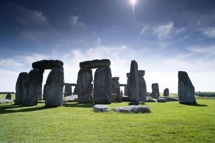 Stonehendge England.... Meaning of Solstice 'Solstice' (Latin: 'solstitium') means 'sun-stopping'. The point on the horizon where the sun appears to rise and set, stops and reverses direction after this day. On the solstice, the sun does not rise precisely in the east, but rises to the north of east and sets to the north of west, meaning it's visible in the sky for a longer period of time.