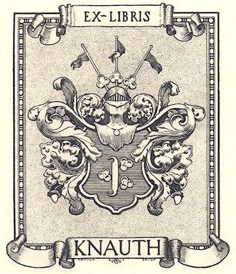 Ex Libris Knauth