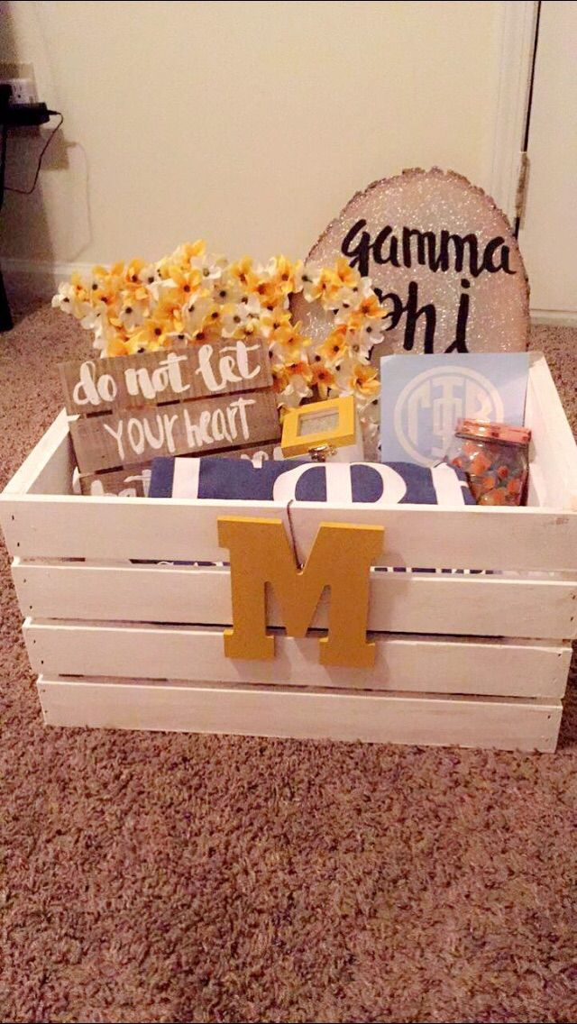 Gamma Phi big little basket                                                                                                                                                                                 More