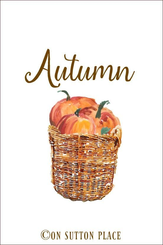 30 Free Fall Autumn Original Printables | Use these free fall printables for crafts, DIY wall art, banners, screensavers and more!