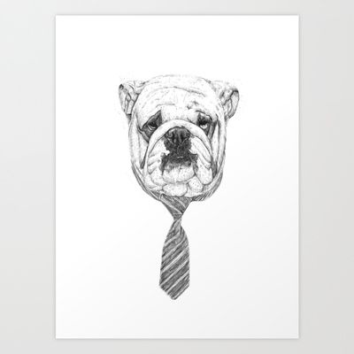 cooldog Art Print by Balazs Solti