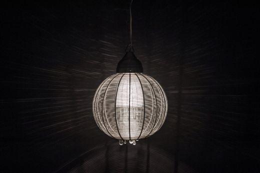 Szklana kula- Lampa wisząca przesyłka gratis!