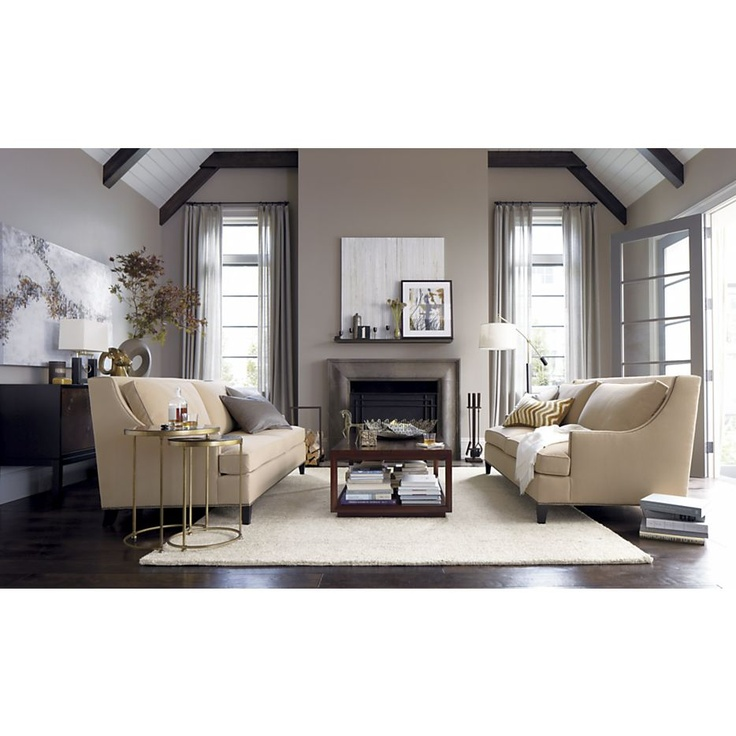 Neutral Rug With Contrast Pretty Homes Pinterest
