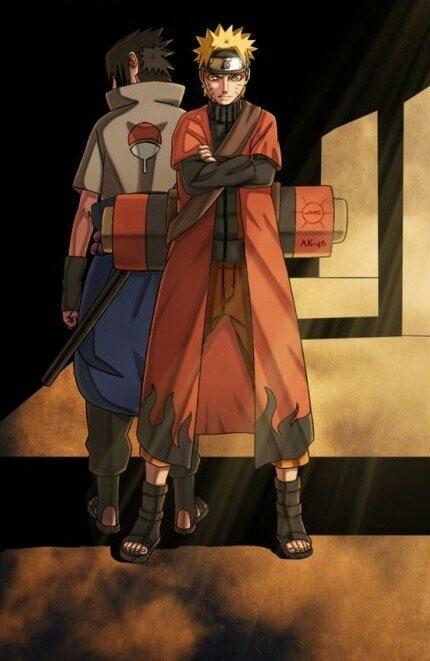 ...<3 meu menino corajoso #UzumakiNaruto UchihaSasuke #NarutoShippuden #fanart