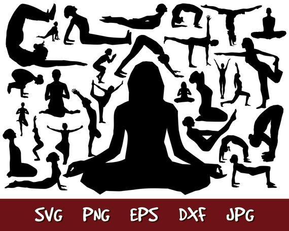 Yoga Svg Yoga Eps Yoga Vector Yoga Png Yoga Silhouette Yoga Etsy Yoga Png Yoga Cartoon Eps