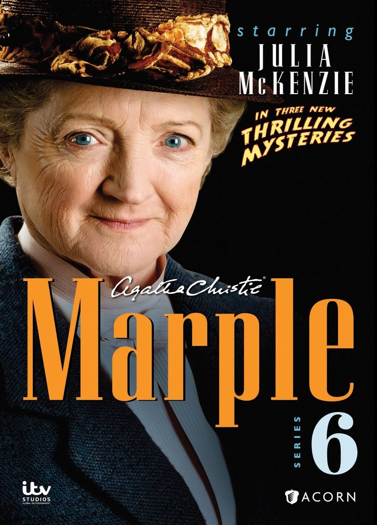 This release compiles all three episodes from the sixth series of the British mystery program MARPLE, starring Julia McKenzie as Agatha Christie's famous crime solver.