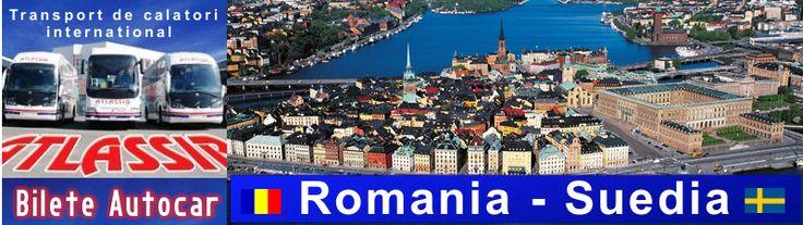 Bilete de Autocar Romania Suedia, Rezervari Bilete Autocar Suedia