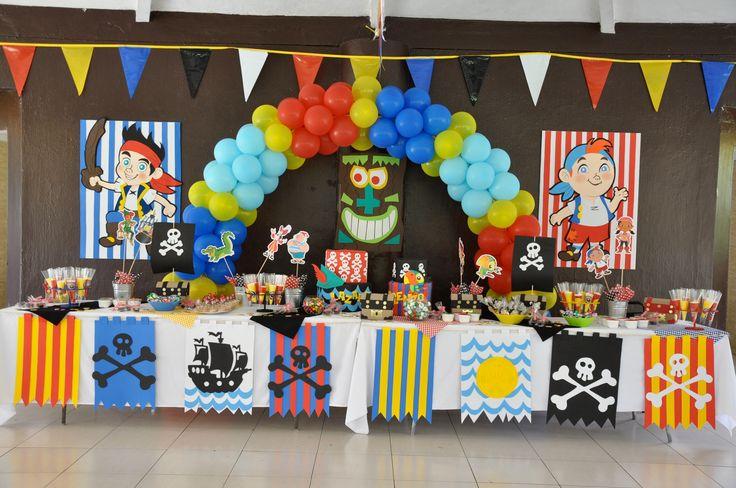 Jake y los piratas | Fiesta de Jake y los Piratas | Pinterest