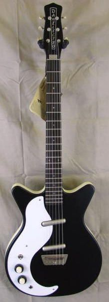 Left Handed Danelectro 1959 Reissue Electric Guitar