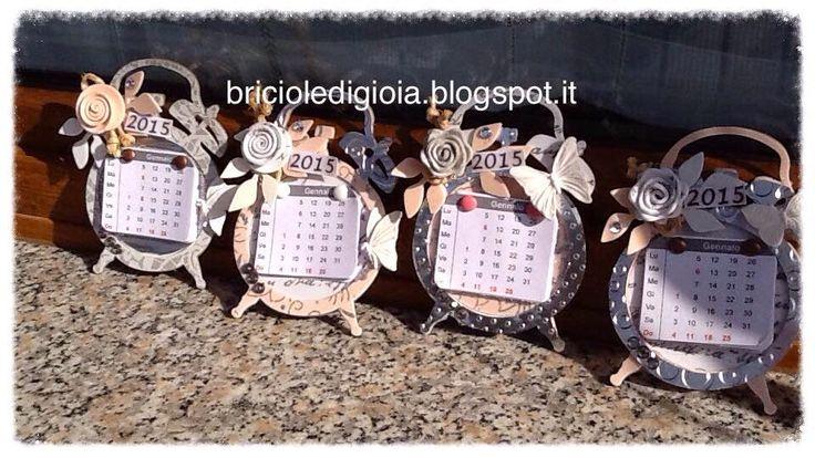 briciole di gioia: Calendario magnetico 2015