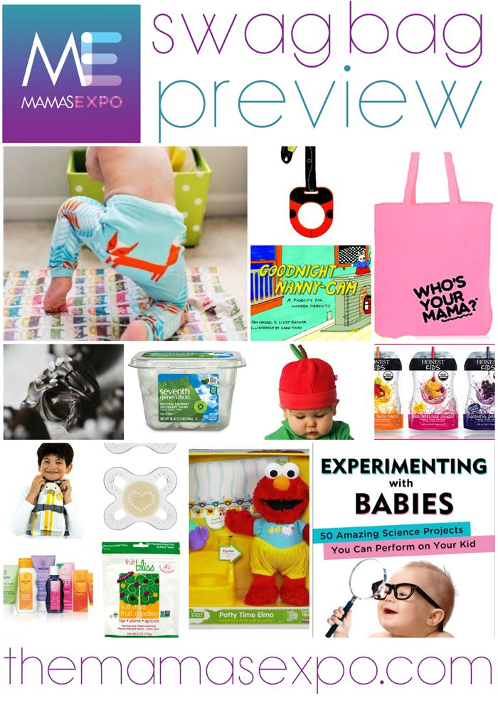 #baby #expo VIP bag preview - #themamasexpo