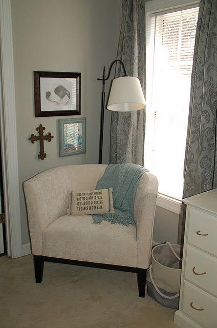 Master Bedroom - Love this little corner, perfect for morning devotional