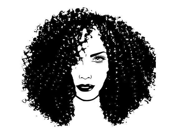 Latina Woman Nubian Princess Queen Curly Hair Beautiful Etsy In 2021 Latina Women Nubian Woman Silhouette