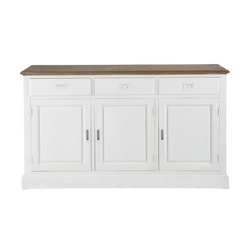 Credenza bianca in legno di paulonia L 150 cm Maison Du Monde € 469,90