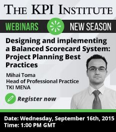 This webinar outlines the best practices in designing and implementing a Balanced Scorecard based performance management system that can be applied in any organization, regardless of industry or functional area. Free Webinar