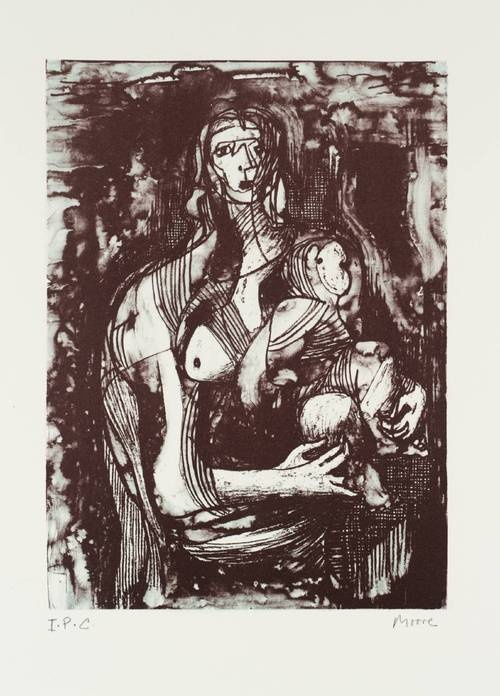 Henry Moore - Mother & Child (1973/1974)    The Henry Moore Fondation