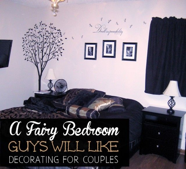 It's possible to decorate for couples and please both sides! We've got some great pointers on just how to do that and a perfect example with photos of how a bedroom was redecorated to please each person.