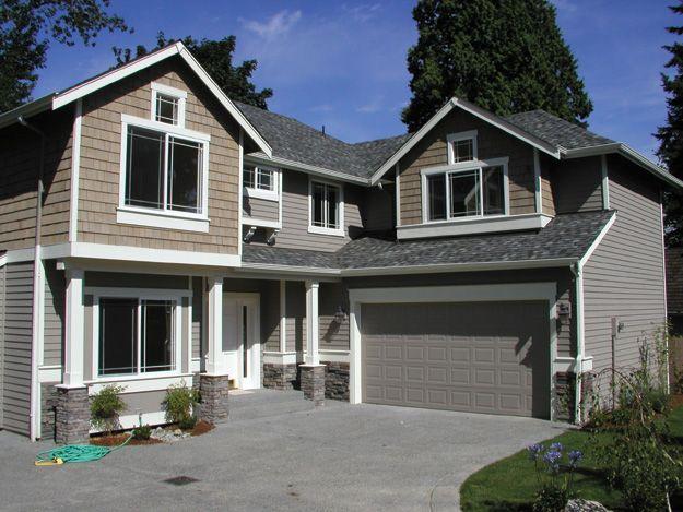 109 best craftsman home plans images on pinterest dream for Large craftsman style homes