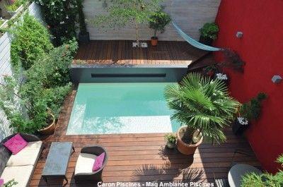 Aucun jardin n'est trop petit pour une piscine.