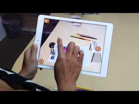 colAR Mix - 3D Coloring App.Kender I coLAR Mix? Det er en app der benytter sig af augmented reality. Den er til de yngste elever. Man kan fra hjemmesiden eller fra appen, som både er til android og IOS skrive ark ud, der skal farvelægges. Når appen så køres henover disse ark, bliver tegningerne levende. Der er en fugl, man kan fodre med orme, et spil hvor man skal skyde nogle figurer, en der sparker på mål, et juletræ i 3.d mm. PRØV DEN. Appen er gratis, og der er mange gratis ark til…