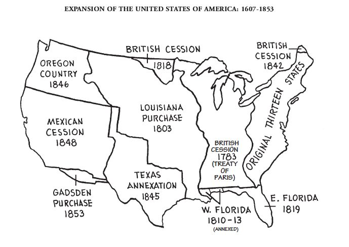Best CC Cycle Images On Pinterest Cycle Teaching - Us expansion map 1607 1860