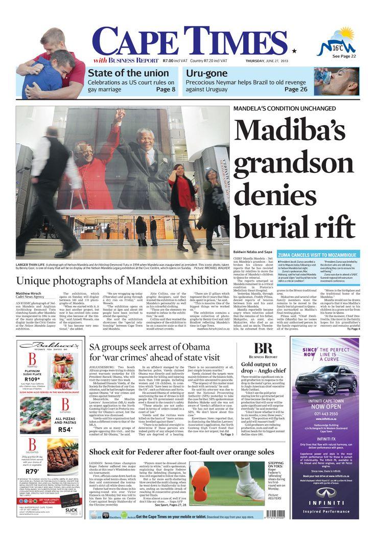 Mandela's grandson denies burial rift