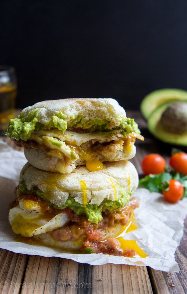 Huevos Rancheros Breakfast Sandwich | 27 Of The Most Delicious Things You Can Do To Beans