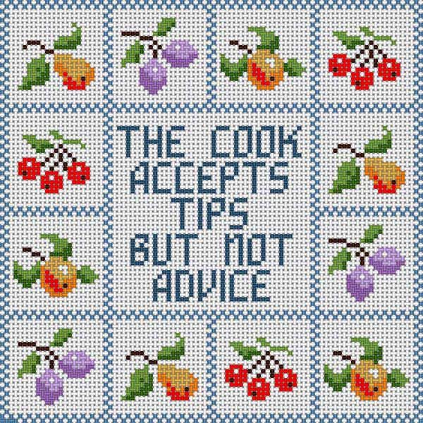 Cook Accepts Tips