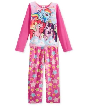 2-Pc. My Little Pony Pajama Set, Little Girls (2-6X) & Big Girls (7-16) - Assorted 8
