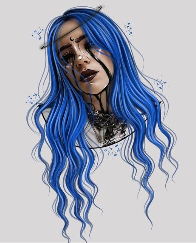 Pin By Morgan On Billie Eilish Billie Eilish Billie Girls Cartoon Art