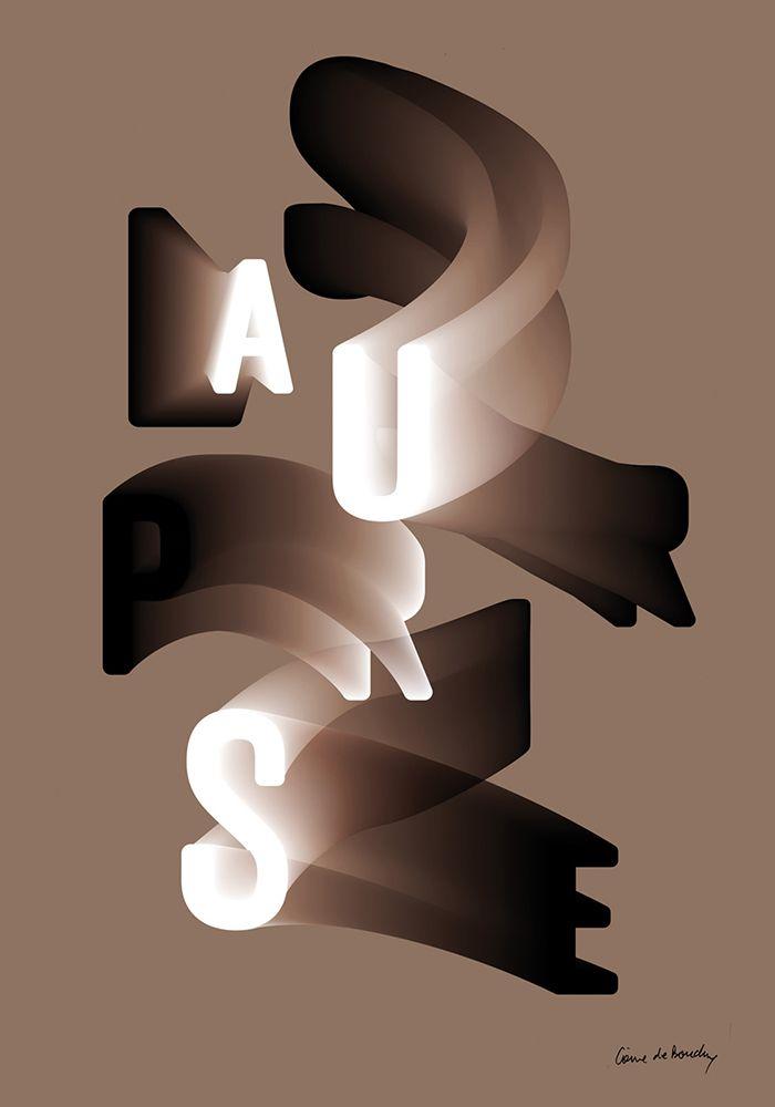 Typografie 3D