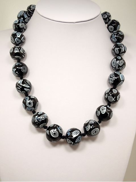 Venetian Glass Beads Necklace