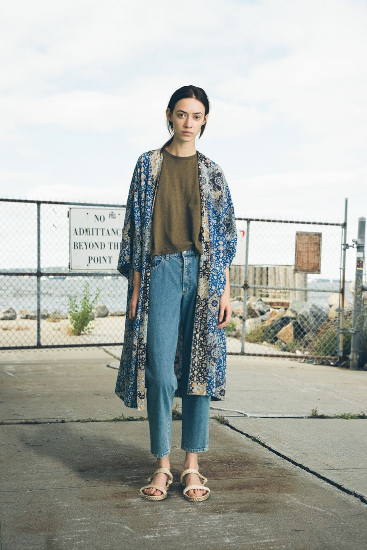 Sea Spring 2015 ( Batik Long Cardigan ) Ready-to-Wear - Collection - Style.com