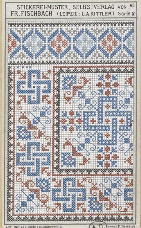 Gallery.ru / Фото #113 - старинные ковры и схемы для вышивки - SvetlanN