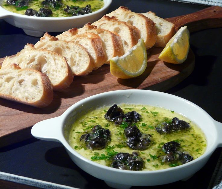 Escargot have always been a favourite.     And I have a number of ways that I like to serve them.     Haven't been able to find them fresh ...