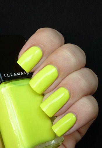 Illamasqua RareSoftball Nails, Red Stripes, Nails Design, Nails Colors, Neon Nails Polish, Limes Nails, Fashion Blog, Illamasqua Rare, Diy Nails