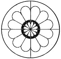 Gothic Architecture: Rose Window Geometry