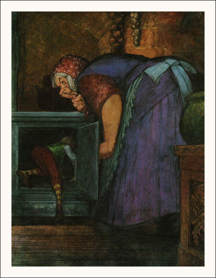 Alan Garner. Jack and the Beanstalk. Harper Collins, London, 1992. ISBN 0001934562. Illustrator Julek Heller.