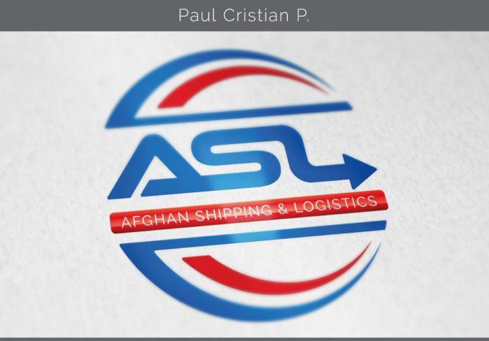 Logo design mockup by Paul Cristian at Coroflot.com