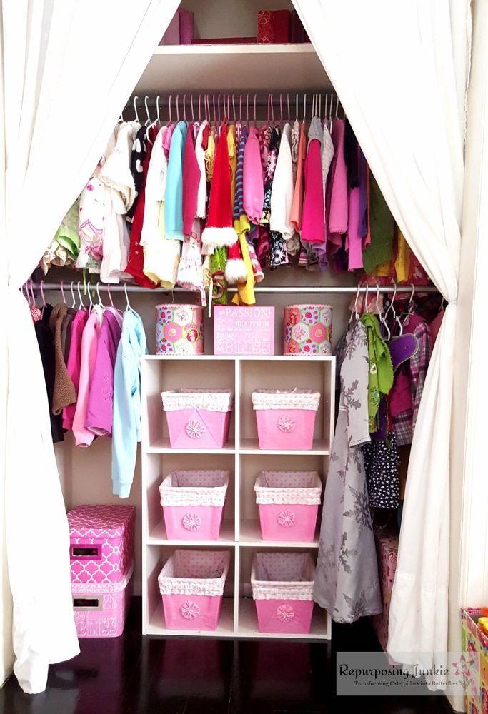 Little Girls' Bedroom Makeover