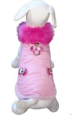 Classy Girl Cuddle Harness Jacket Vest by Cha Cha Couture in Pink
