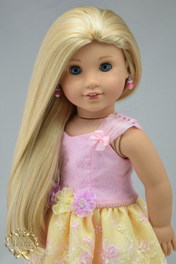 Custom American girl doll ; The outfit by PurpleRoseNY https://www.etsy.com/listing/254376863/american-girl-doll-clothes-formal-short?utm_source=Pinterest&utm_medium=PageTools&utm_campaign=Shareref=shop_home_active_1 Facebook https://www.facebook.com/Purple-Rose-NY-1407561006174696/ The doll by Beautifully Custom Dolls http://beautifullycustomdolls.com Facebook https://www.facebook.com/BeautifullyCustom