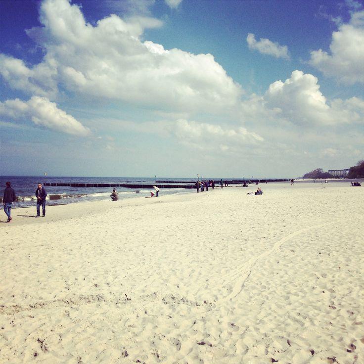 Blue sky Kołobrzeg