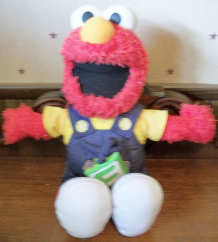 Sesame Street Alphabet Talking Elmo #Playskool