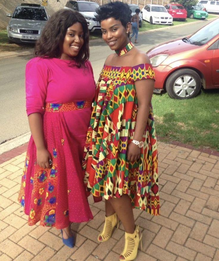 African Fashion | Modern Traditional Fashion | Tsonga | South Africa | Women's Fashion